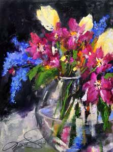 Pastel by Terrie Lombardi