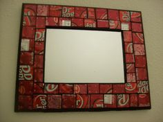 Awesome Dr. Pepper mirror.