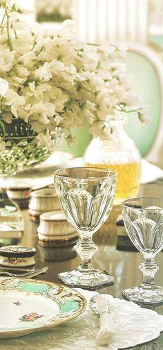 Baccarat et porcelaine