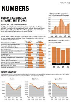 This Excel dashboard report, inspired by the NUMBERS series in Business Week, is a great format for any kind of professional report. Financial Dashboard, Dashboard Reports, Powerpoint Charts, Swipe File, Report Design, User Experience Design, Dashboards, Printing Labels, Data Visualization