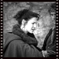 Claire Faux Fur Cowl Outlander Hand Knits - 6 different colors http://KnitzyBlonde.etsy.com