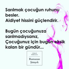 Anne Çocuk cp School Counseling, Family Activities, Parenting, Entertaining, Education, Quotes, Quotations, Onderwijs, Learning