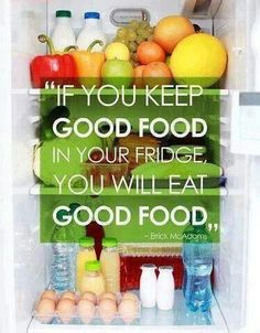 I always thought this was crap-- I proved myself wrong.  We threw out/ gave away all the bad food we had, replaced it, and it has made such a difference already.