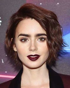 Female Celebrities Short Hair Style