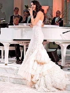 edwardian spanish lace wedding gown