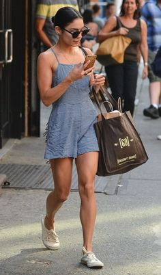 Vanessa Hudgens Steps Out In NYC
