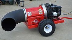 Buffalo-Turbine-Cyclone-8000-Leaf-Debris-Blower 14 hp, manual start, wired remote -