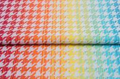 Pepitka rainbow light #weavingstudio #fabricart #cottonfabric #pepitka #rainbow #teamrainbow