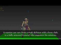 Battle Chasers: Nightwar - Creature Spotlight: Skeletons - YouTube