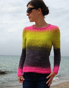 Pixelated Pullover, de Jennifer Beaumont. http://www.ravelry.com/patterns/library/pixelated-pullover