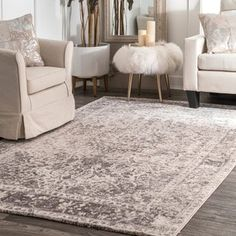 Shop for nuLOOM Vintage Faded Medallion Beige Rug (7'6 x 9'6). Get free shipping at Overstock.com - Your Online Home Decor Outlet Store! Get 5% in rewards with Club O! - 18406702