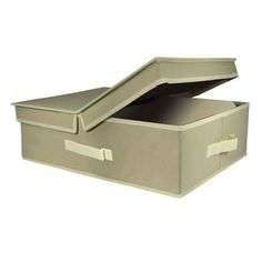 Picture of Underbed Bin, Large, Tan