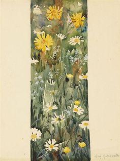 Augusto Giacometti, Pflanzenstudie