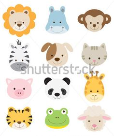 etiquetas de animais - Pesquisa Google