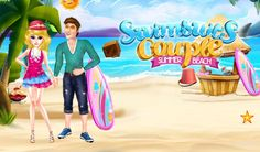 Be a Guide in this Summer and help beautiful couple by completing all their requirements. Beach Games, Summer Games, Free Android Games, Beautiful Couple, Beautiful Beaches, Games For Kids, Summer Beach, Swimsuits, Activities