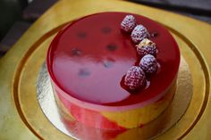 Today I had one of the best practicals ever.  The cake: Entremets Passionata. The chef: Nicolas Jordan. The dream team: Cami, Momoko, Adam a...