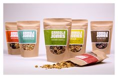 Granola Jones Packaging on Behance