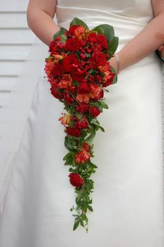waterfall bouquet