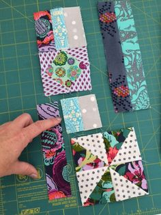 Jaffa quilts: Gypsy Wife section 1 {partial seams}