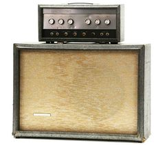 -1965 SILVERTONE 1483 VINTAGE SEARS 1484 1485 VINTAGE BASS GUITAR AMPLIFIER AMP-