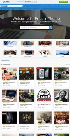 Pricerr WordPress Theme - SiteMile