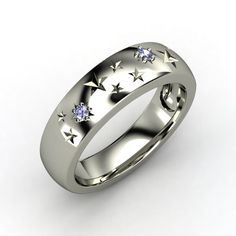 Sterling Silver Ring with Tanzanite | Written in the Stars Ring | Gemvara