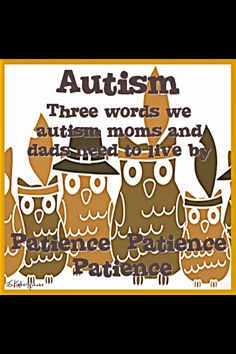 Autism owls