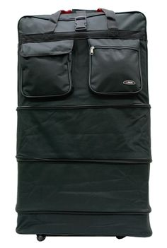 """Hipack Travel 8-wheels 36"""" Rolling Wheeled Duffle Bag Spinner Suitcases Luggage"""