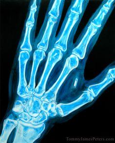 RFID UV-Light painting.