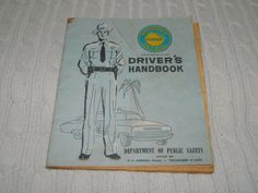Antique 1960s Florida Driver's Handbook Dept. of Public Safety Tallahassee FHP