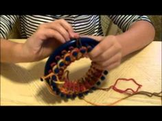 How to Loom - 10 Year Old Teaches Loom Knitting for Kids and Beginners