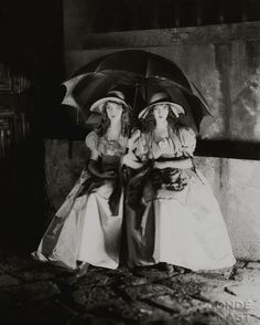 "Dorothy & Lillian Gish in ""Orphans Of The Storm"" [1921]"