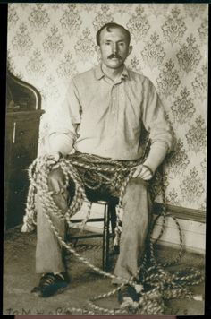 Tom Horn in captivity