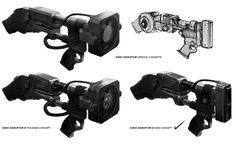 Sonic Disruptor Concept from Batman: Arkham Origins