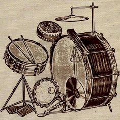 Although percussion instruments were the first musical instrument ever created, the drum kit as we know it today has been developed almost one hundred years ago. We're taking on a journey through the history of the drum kit.
