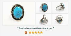 #Vintage Signed #ART #TurquoiseRing  #Southwestern #gotvintage #vintagerings #jewelry