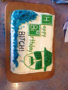 breaking bad cake