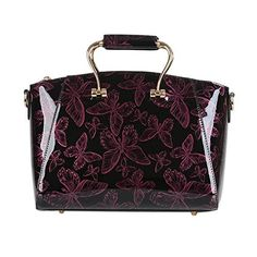 New Trending Cross Body Bags: QZUnique Womens Vintage Elegant Top Handle Bowknot Printing Cross Body Shoulder Bag Wine Red. QZUnique Women's Vintage Elegant Top Handle Bowknot Printing Cross Body Shoulder Bag Wine Red  Special Offer: $43.99  466 Reviews To see more similar products, please click the brand name QZUnique or browse in our store Global Best Discount. Material: High Quality PU Leather ...
