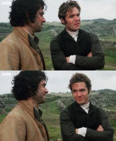 Heart. Eyes. // Aidan Turner & Luke Norris