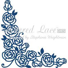 Tattered Lace Rose Corner Die | Hobbycraft