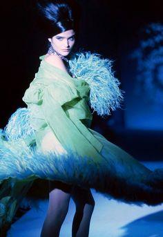 Helena Christensen for Thierry Mugler Spring/Summer 1991