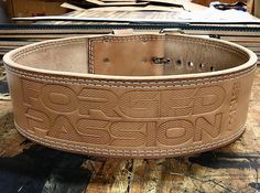 IRON COMPANY Forged Passion Leather Weightlifting Belts are USA Made and include a Lifetime Warranty. Customize your belt to represent your own Forged Passion. Order your Forged Passion belt today. Crossfit Equipment, No Equipment Workout, Bodybuilding Equipment, Military Workout, Workout Belt, Workout Accessories, Fitness Accessories, Thigh Exercises, Powerlifting