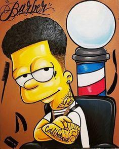 The simpsons barber ✌🏻🧔🏼 vempraniza 💈✂️ Barber Logo, Barber Tattoo, Simpsons Drawings, Simpsons Art, Simpson Wallpaper Iphone, Wallpaper Iphone Cute, Album Design, Barber Shop Decor, Barbershop Design