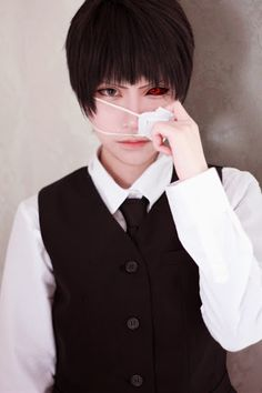 Ken kaneki cosplay by sakuya
