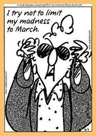 Sound advice from one of our favorite grannies. #madness #march #karting