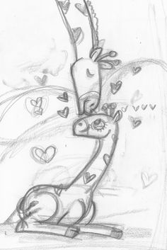 Giraffee Mom Love - Angie Jones Illustration