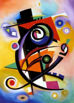 Alfred Gockel Homage to Kandinsky painting is shipped worldwide,including stretched canvas and framed art.This Alfred Gockel Homage to Kandinsky painting is available at custom size. Wassily Kandinsky, Kandinsky Prints, Arte Pop, Cross Paintings, Art Plastique, Modern Art, Art Projects, Abstract Art, Art Prints
