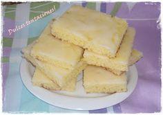 Dulces Tentaciones: Espumitas de Limón.. También conocidas como Brownies de Limón!!!!!!