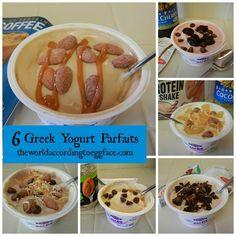 Eggface Healthy Breakfast Recipes: Greek Yogurt Parfaits