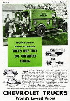 1935 Chevrolet Panel Delivery Truck